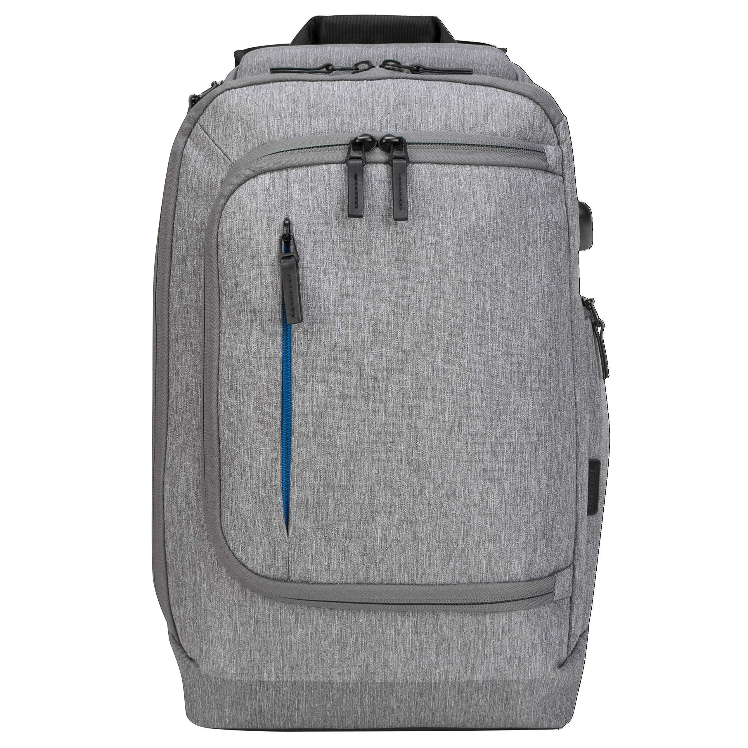 Targus CityLite Pro Premium Convertible Backpack for 15.6-Inch Laptop, Grey (TSB939GL)