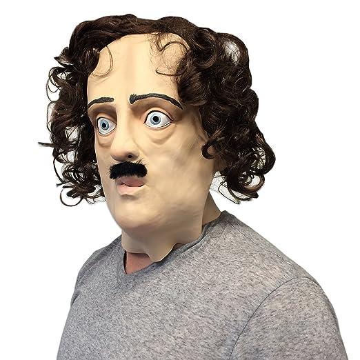 Edgar Allan Poe máscara (Super Creepy) - de la pared juguetes: Amazon.es: Juguetes y juegos