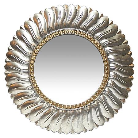 Infinity Instruments 14972AG Marseille Round Mirror, 21.5