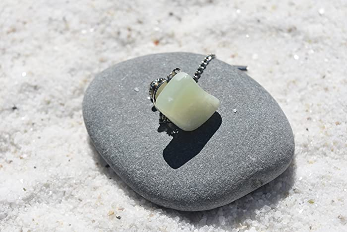 a3b37a7728ea Amazon.com: Custom Jade Stone Tie Tack Handmade - Quantity of 1: Handmade