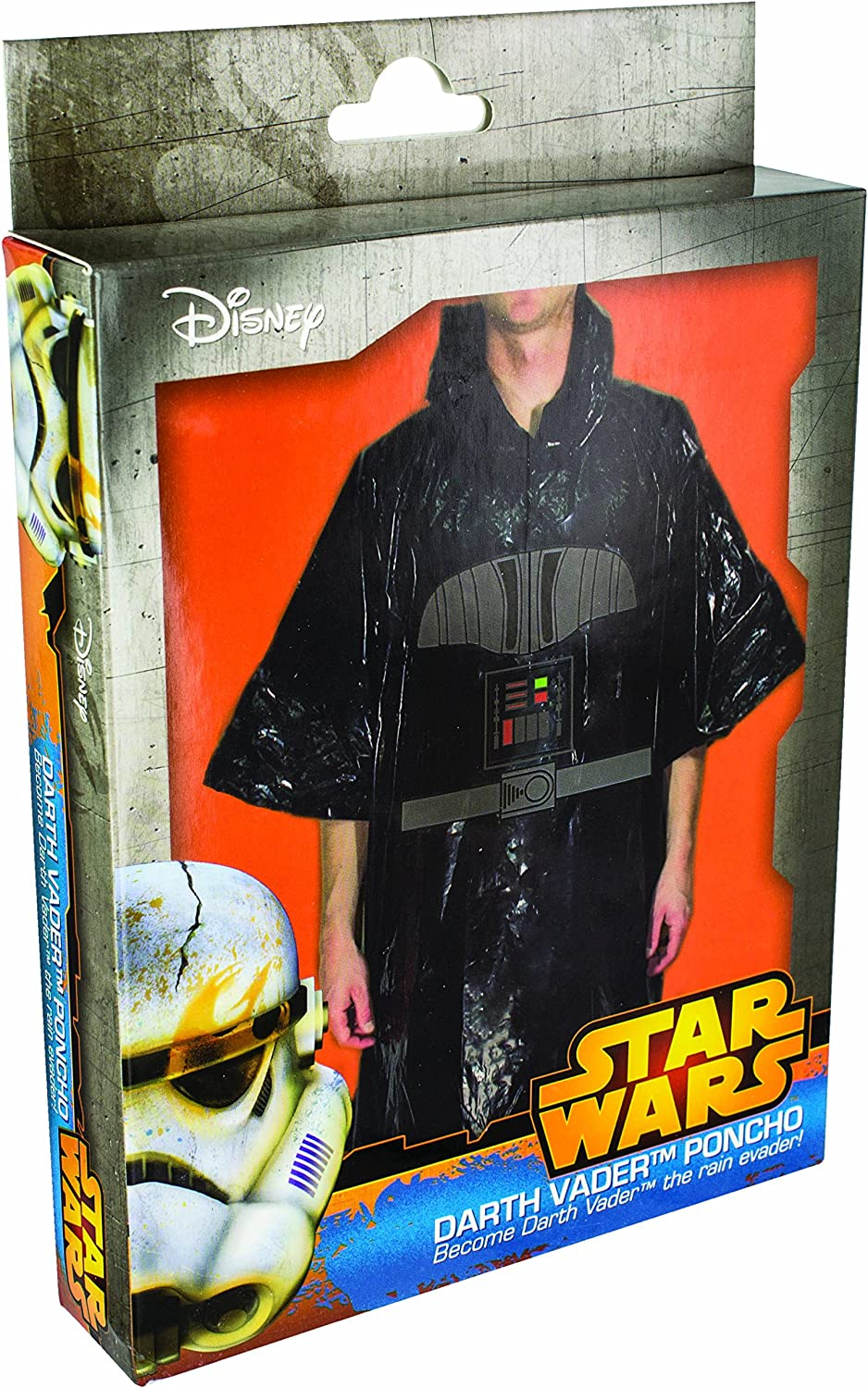 Star Wars - Disfraz poncho Darth Vader, color negro (Paladone ...