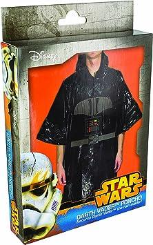 Star Wars - Disfraz poncho Darth Vader, color negro (Paladone ...