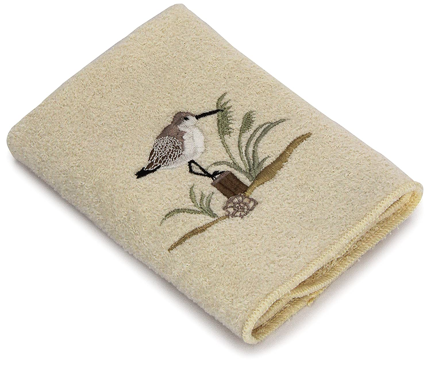 Avanti Sea Birds Bath Towel, Ivory Avanti Linens 35581IVR