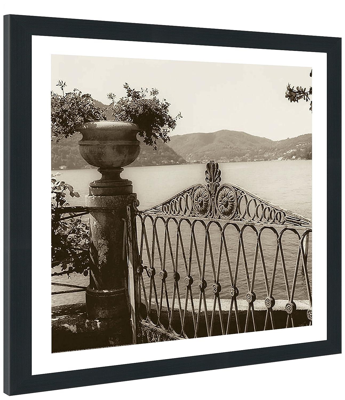 Picture Perfect International Alan Blaustein Cernobbio Vista Framed Plexiglass D/écor Wall-Decor 39.5 x 39.5 x 0.75
