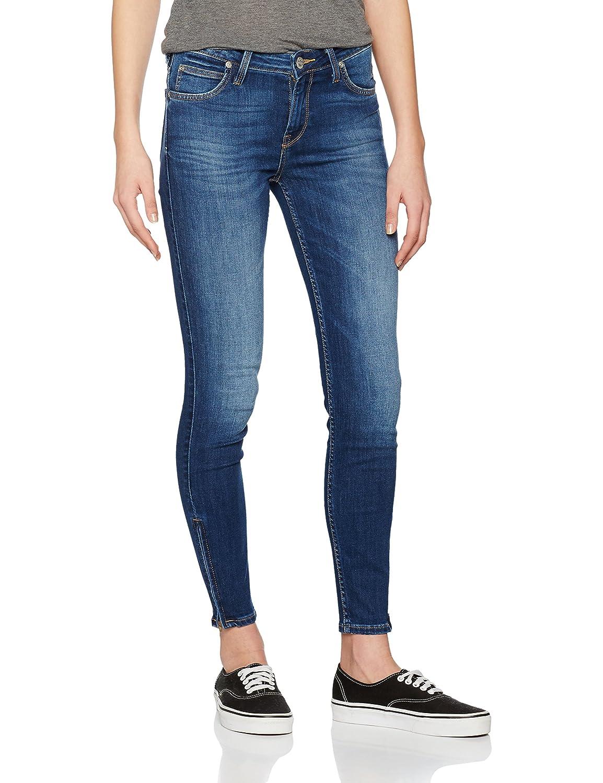 TALLA 31W / 31L. Lee Scarlett Cropped, Jeans Mujer