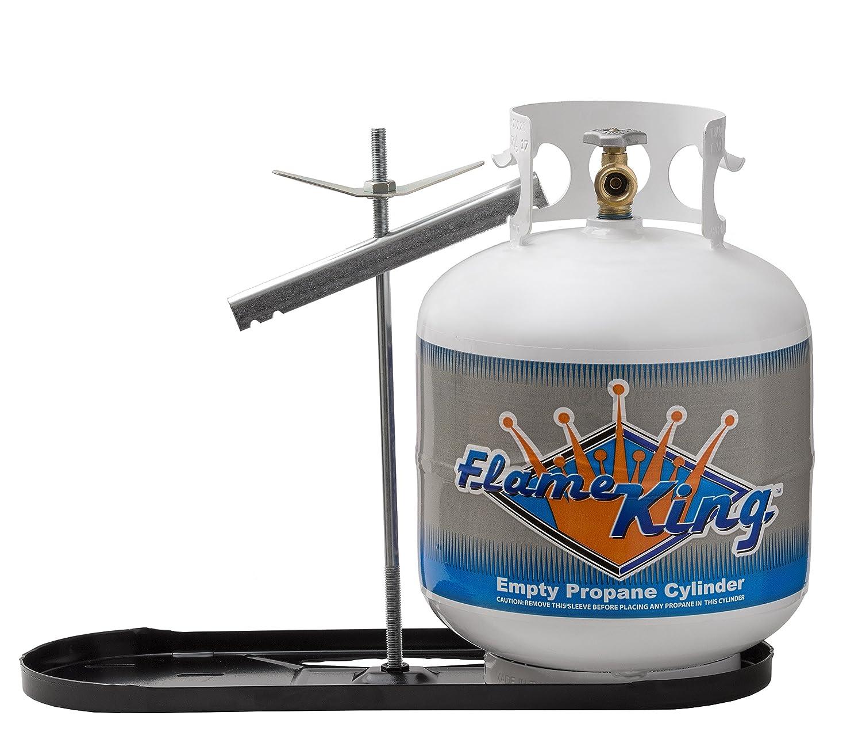 Flame King (KT20MNT) Dual RV Propane Cylinder Rack