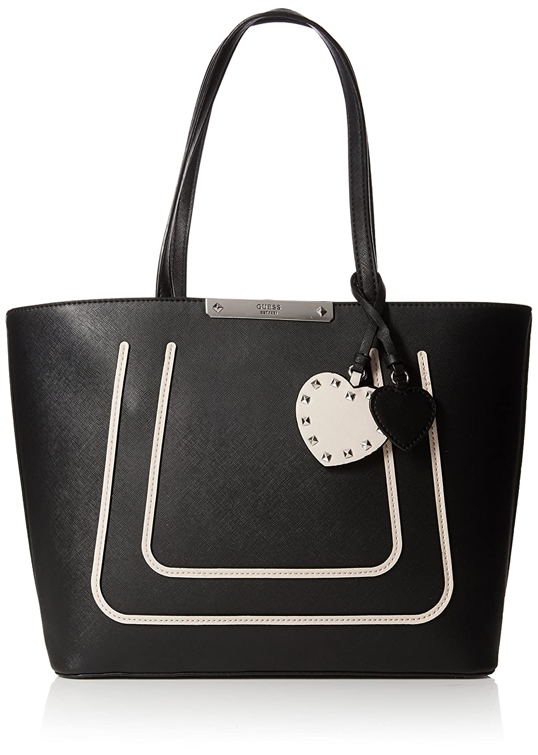 Guess Damen Hwvo6693230 Shopper, Schwarz (Black Multi