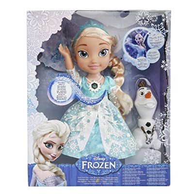 Disney Frozen Snow Glow Elsa Singing Doll (Discontinued by manufacturer): Toys & Games