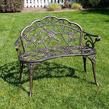 Amazon Com Belleze Antique Designed Rose Style Outdoor Patio