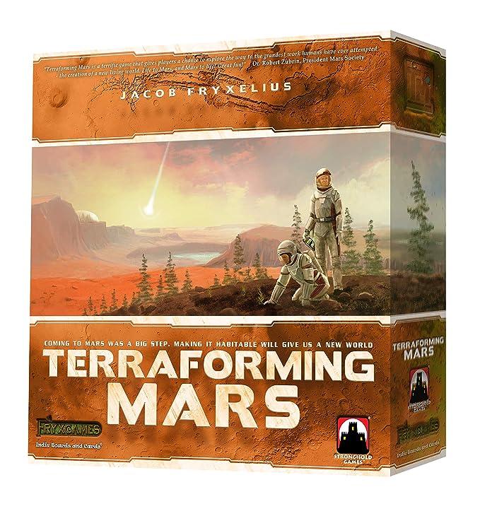 Terraforming Mars Stronghold Games STG06005 Juego de Estrategia Familiar (en inglés)