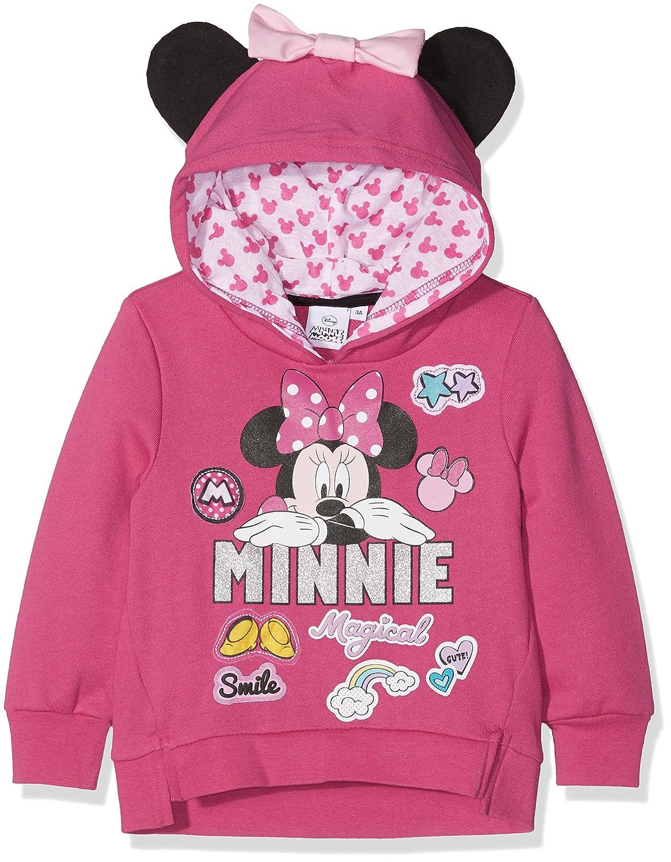 Sweat /à/Capuche Fille Minnie Pop /& Patch