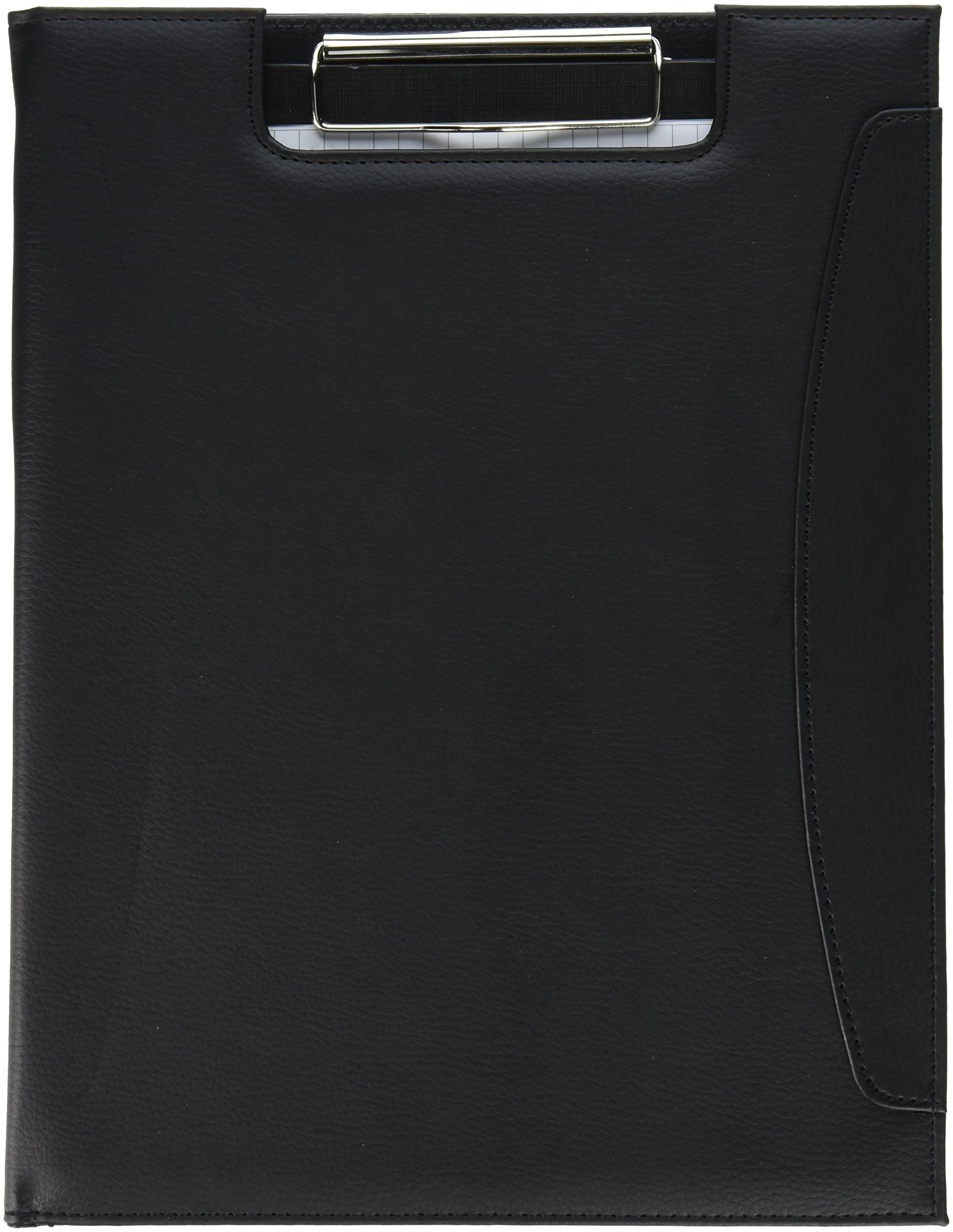 Natico Ring Binder, Portfolio, Padfolio Black, Clipboard 12.625 x 9.75 (60-PF-34)