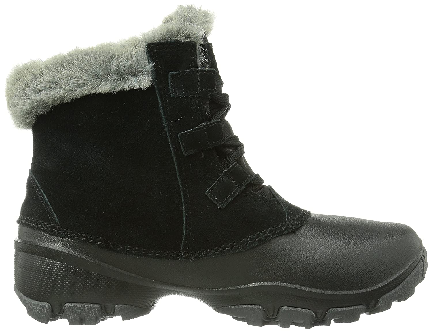 Columbia Women's Sierra Summette Shorty Winter Boot B00GW95VY8 8 B(M) US|Black, Red Plum