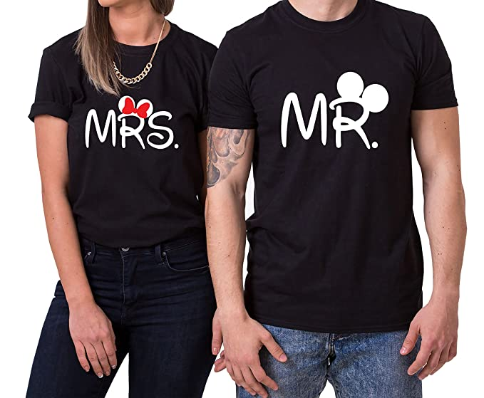 Camiseta Mr. y Mrs. Para Parejas