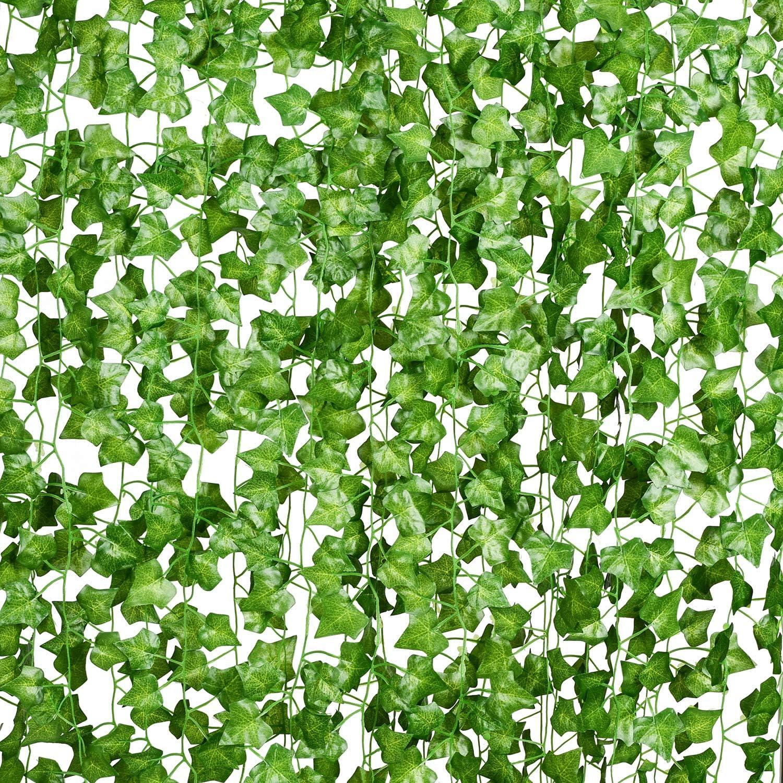 Artificial Ivy Leaf Plants Fake Hanging Garland Plant Vine Foliage Home Decor