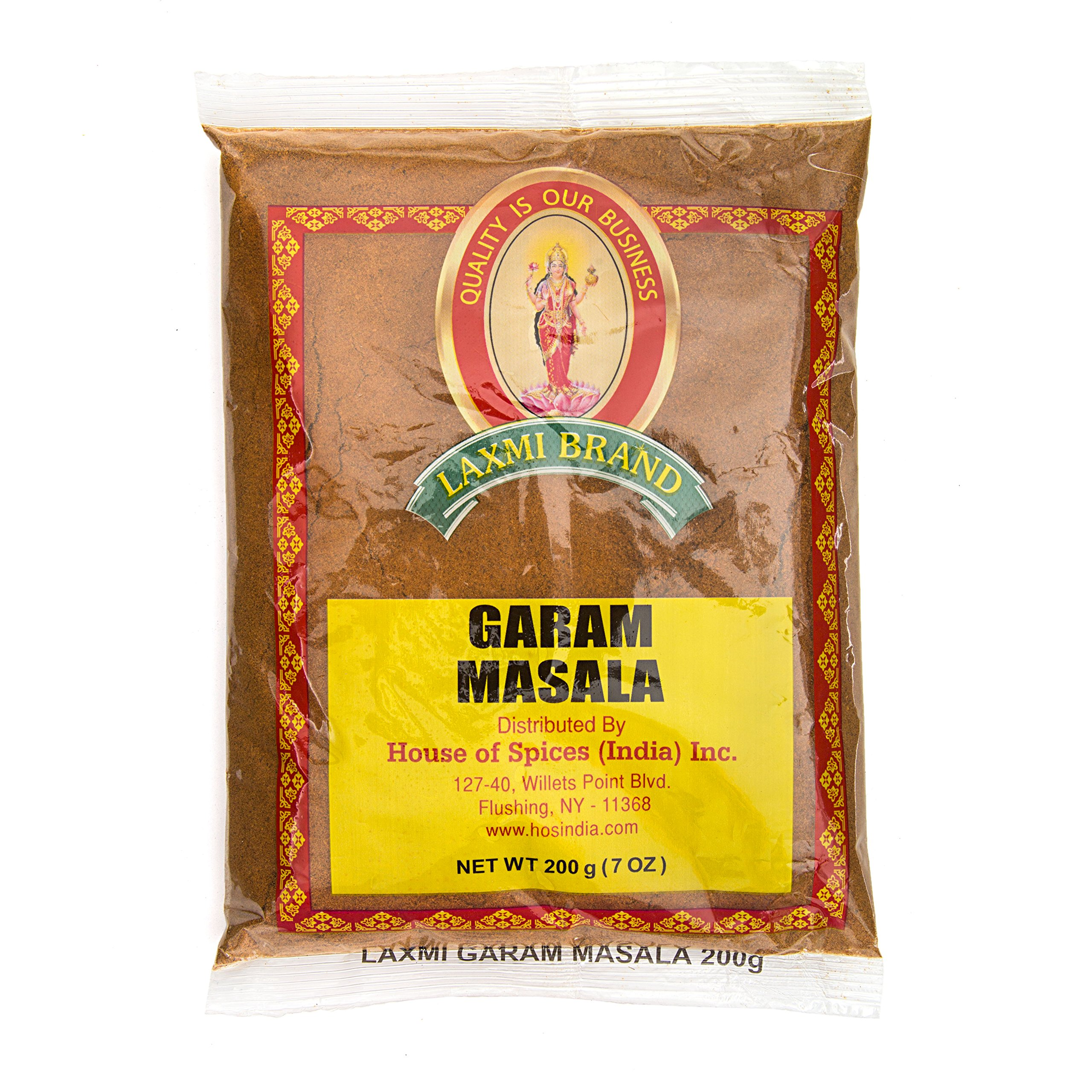 Laxmi Gourmet Traditional Garam Masala Indian Spice Blend - (20, 7oz Packets)