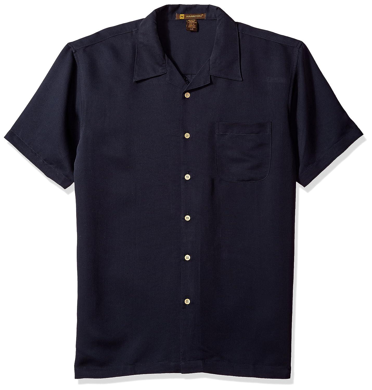 342f14dd36d Harriton Men s Bahama Cord Camp Shirt at Amazon Men s Clothing store   Button Down Shirts