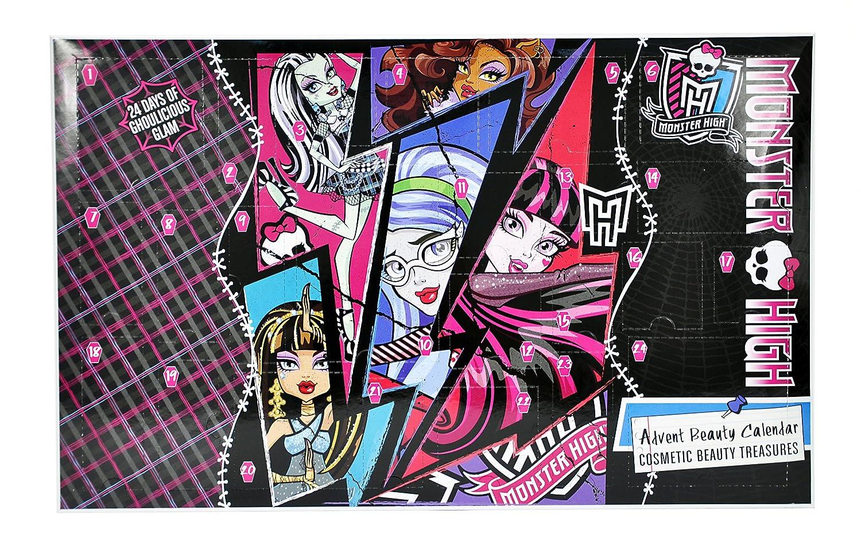 Markwins 9433710 - Monster High - Adventskalender: Amazon.de: Beauty