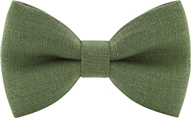 Classic New Lime Green Men/'s Pre-tied Bowtie Bow tie wedding Party Prom