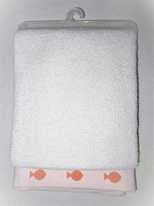 Amazon.com: Koala bebé toalla de baño, color blanco con ...