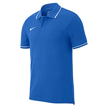 61f322c0 Nike Team Club 19 Polo Mixte Enfant, Royal Blue/White, FR (Taille
