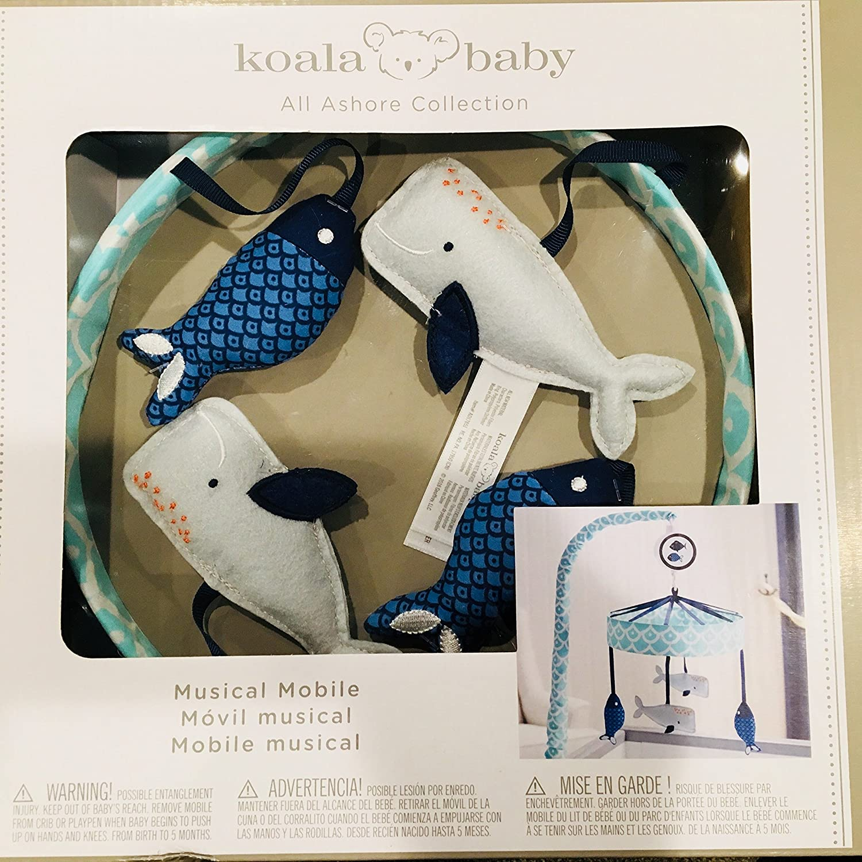 Amazon.com : Koala Baby All Ashore Blue Fun Fish and Whale ...