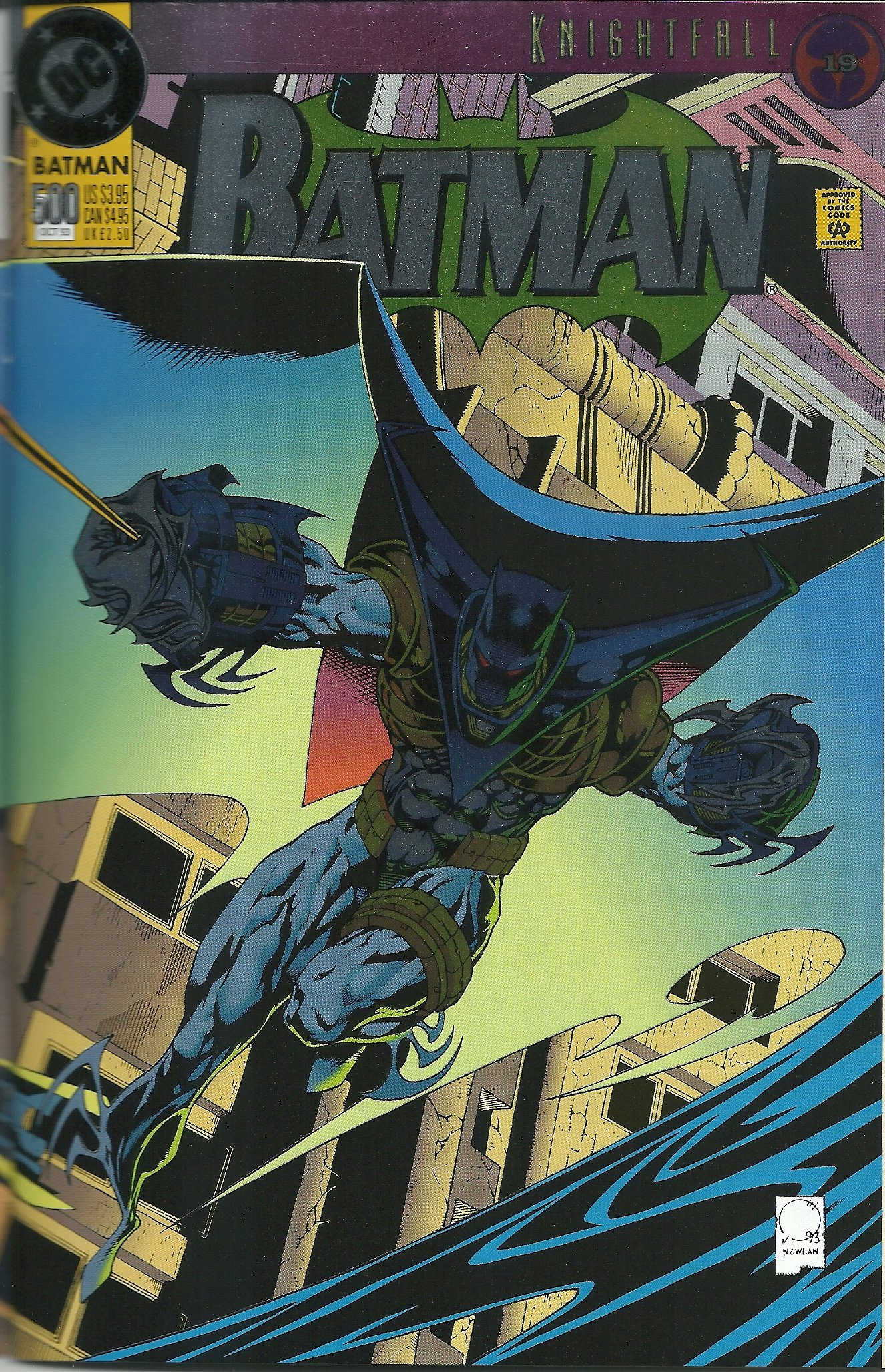 Batman Number 15 Knightfall 15 15 Jim Aparo, Mike Manley, Doug ...