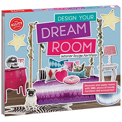 KLUTZ Design Your Dream Room Toy: Klutz: Toys & Games