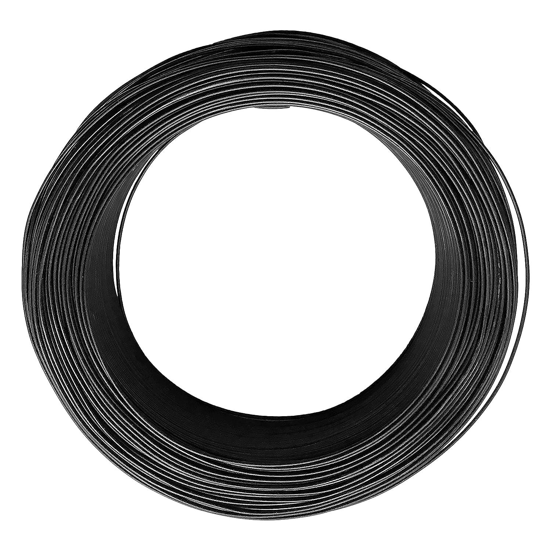 Aluminum Bonsai Wire - Grade A Dark Brown Annealed for Training Branches 21015 (1, 1.5mm) Kiku