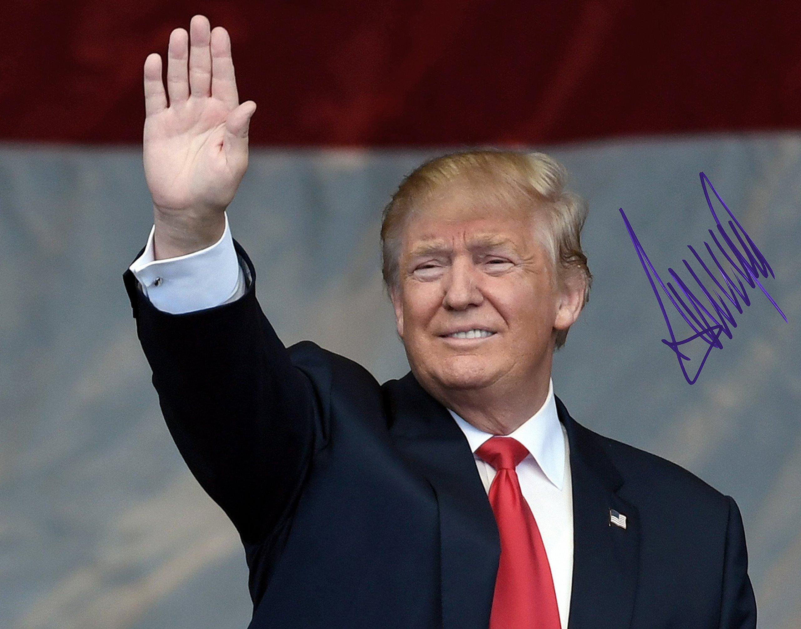 Donald Trump and Autographed Preprint