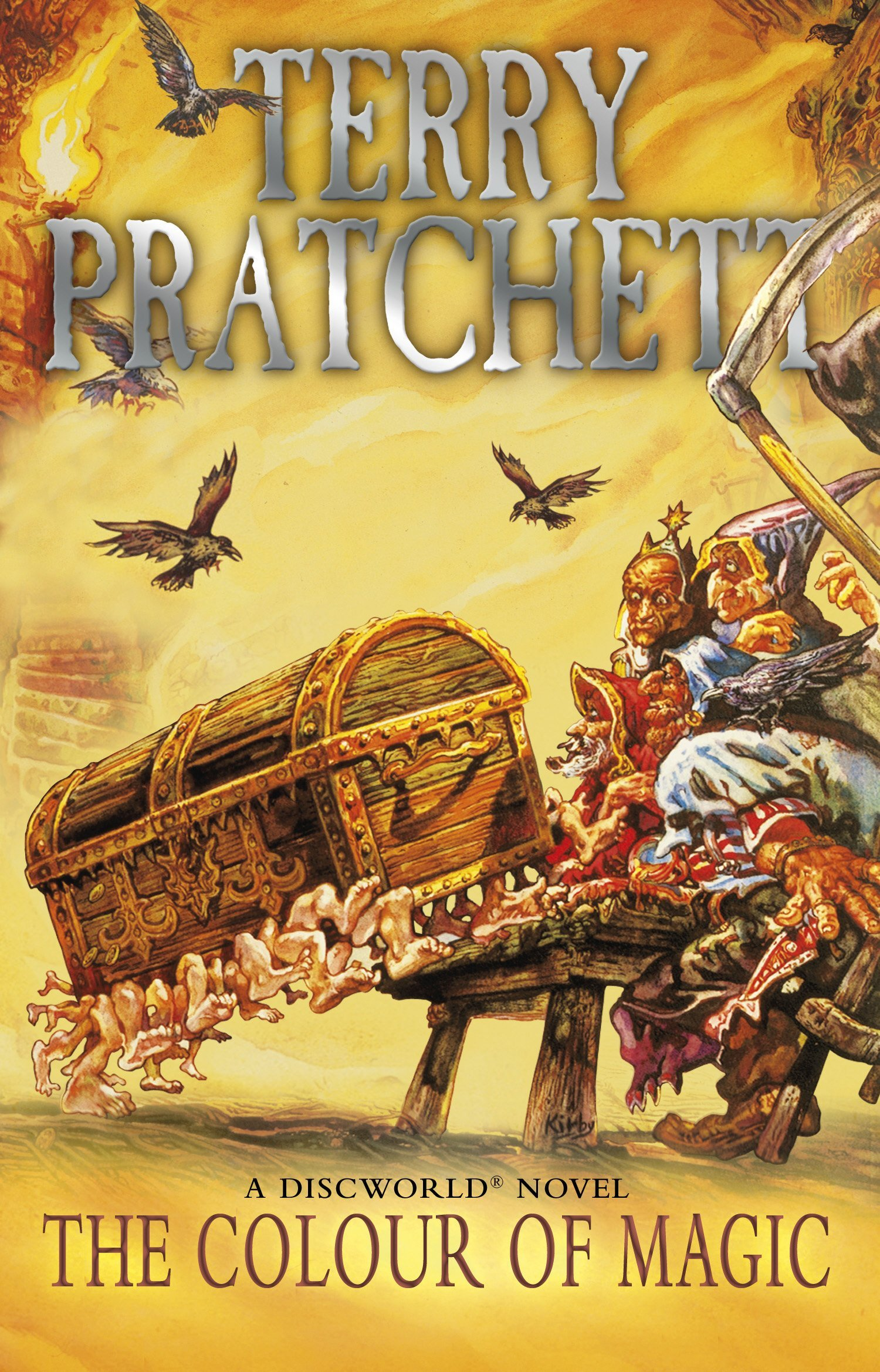 Image result for discworld the colour of magic