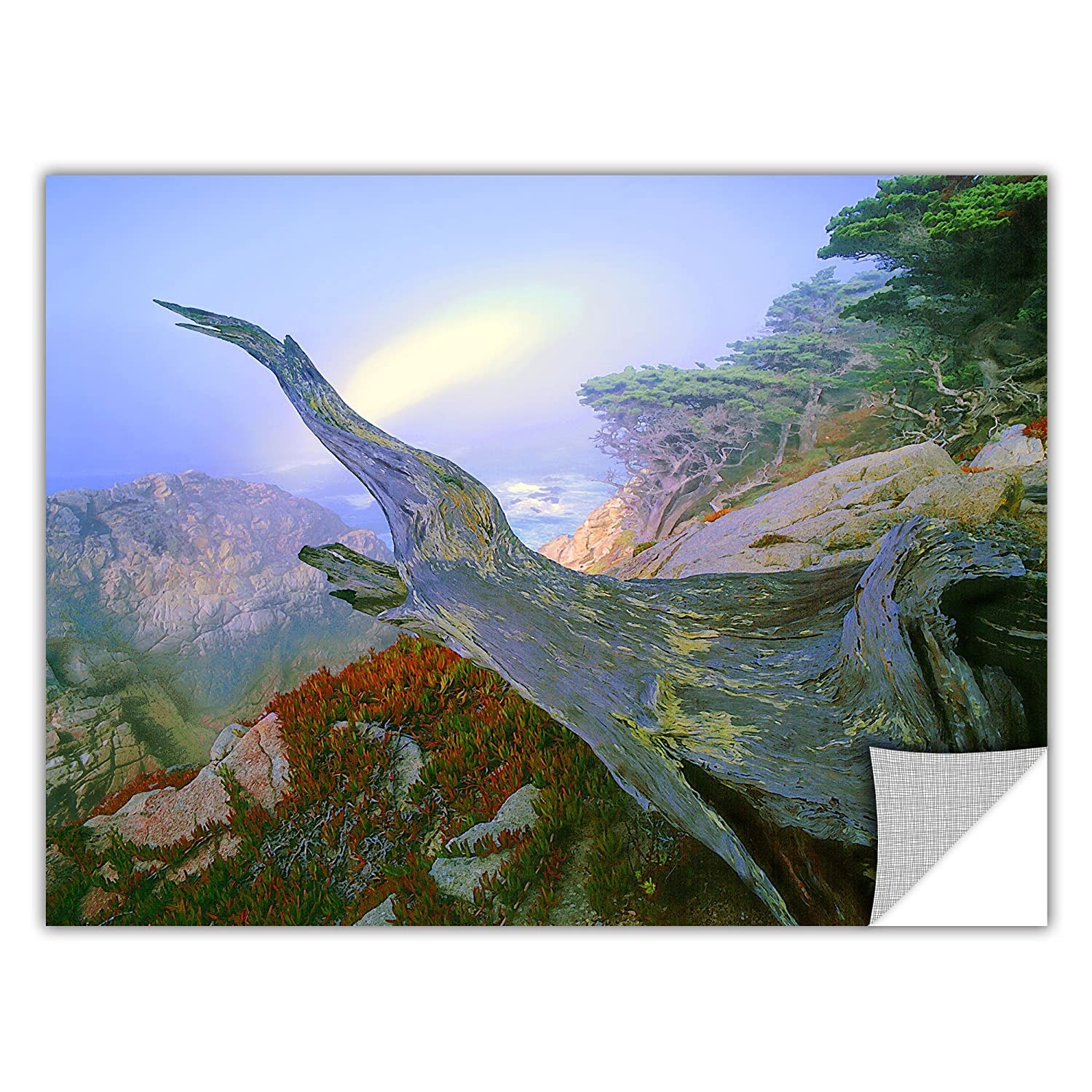 24 by 32-Inch ArtWall Appealz Dean Uhlinger Like a Flame Removable Graphic Wall Art