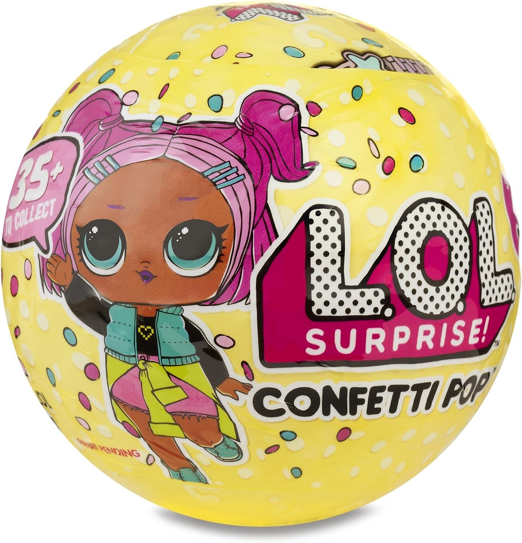 Amazon Com L O L Surprise Confetti Pop Series 3 1 Toys Games