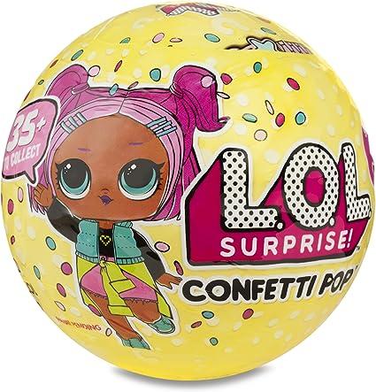CONFETTI POP BIG SISTER DOLL BALL SERIES 3 WAVE 2 REAL MGA! LOL SURPRISE