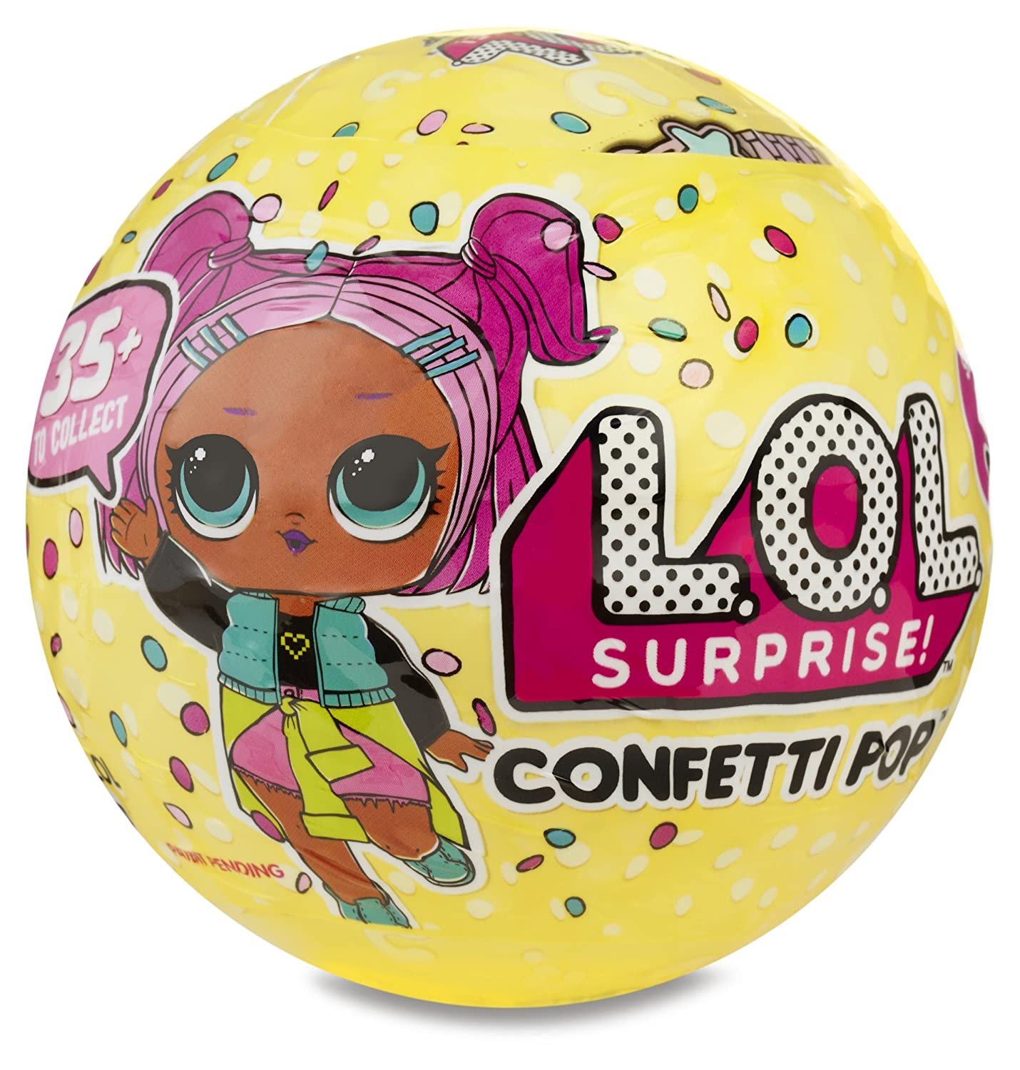 L.O.L. Surprise! Confetti Pop-Series 3-Wave 1 Unwrapping Toy 551522