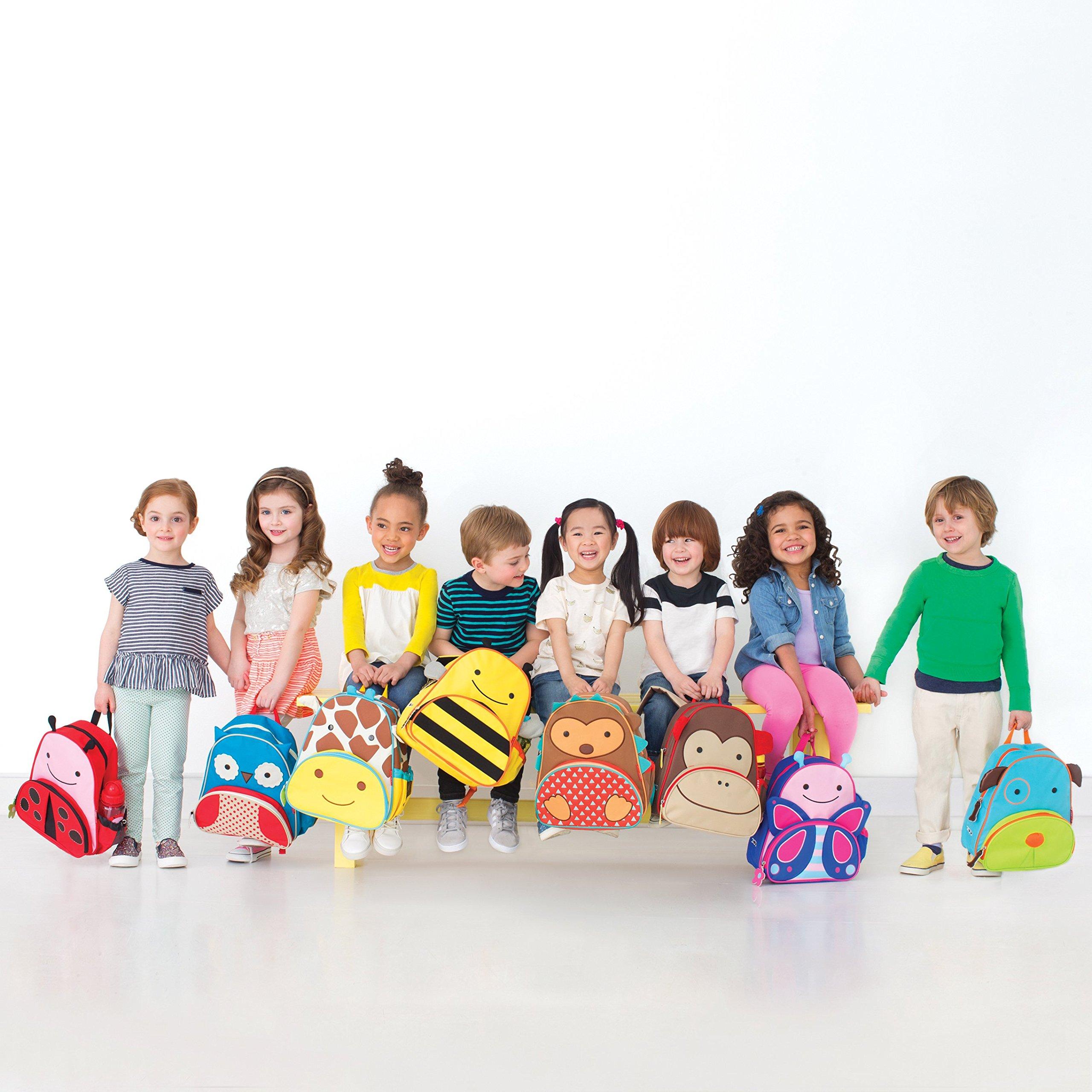 Zoo Toddler Backpack Marshall Monkey, 12'' School Bag, by Skip Hop (Image #9)
