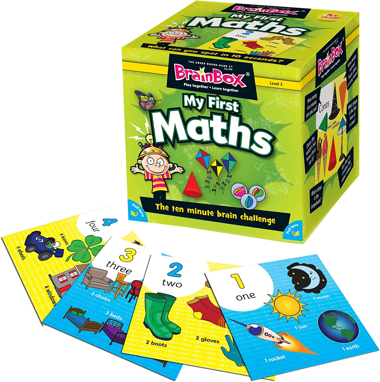 BrainBox My First Maths - Vehículo radiocontrol (Green Board Games 90039) (versión en inglés): Amazon.es: Juguetes y juegos
