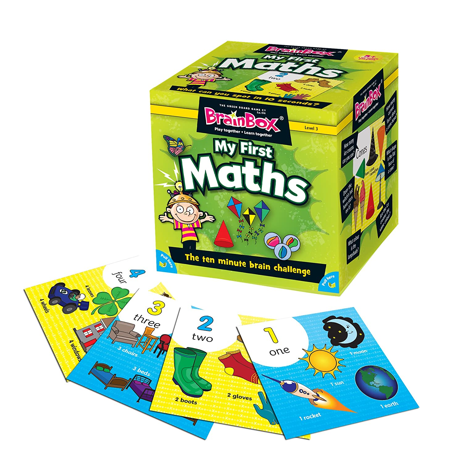 BrainBox - My First Maths Memory Game: Amazon.co.uk: Toys & Games