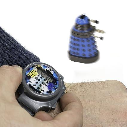 Amazon.com: Doctor Who Reloj digital – Dalek Whizz Reloj con ...