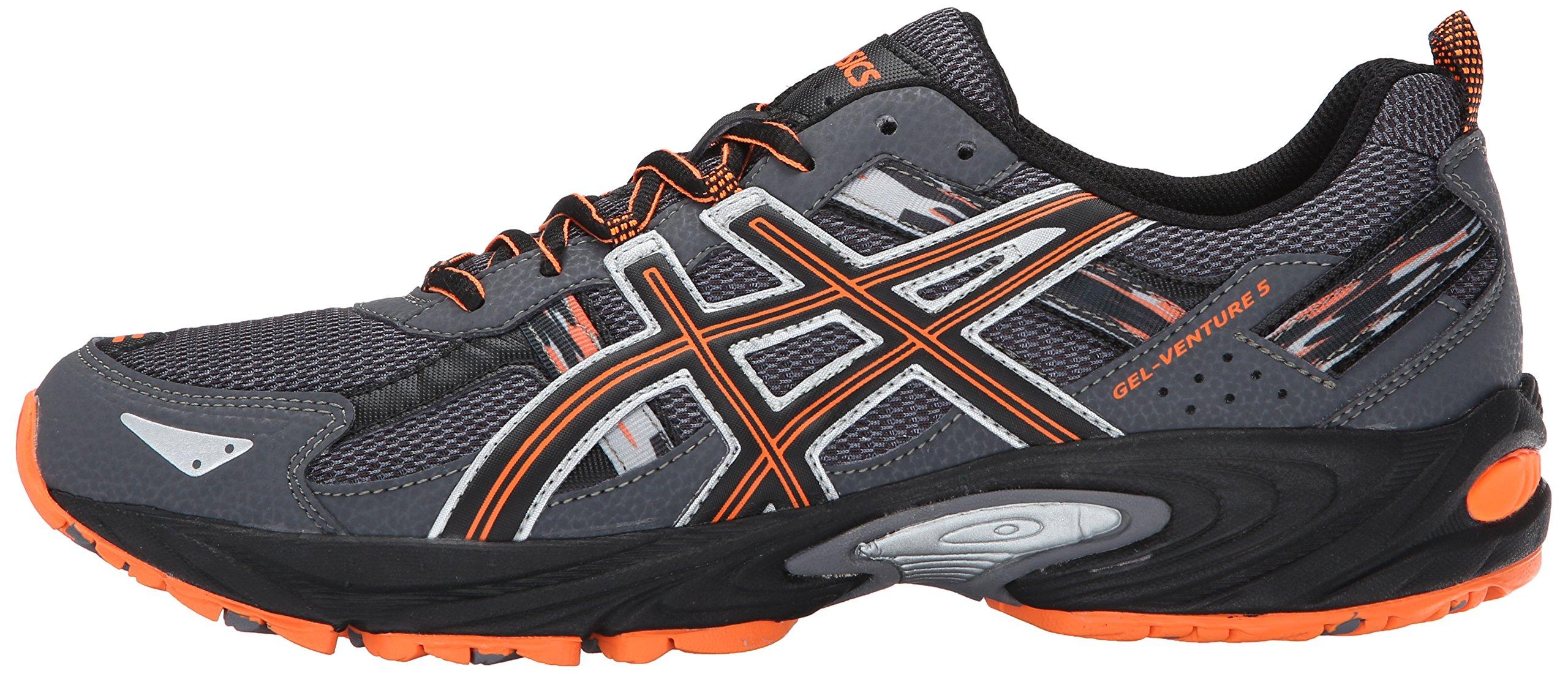 ASICS Men's Gel-Venture 5-M, Carbon/Black/Hot Orange 7.5 M US by ASICS (Image #5)