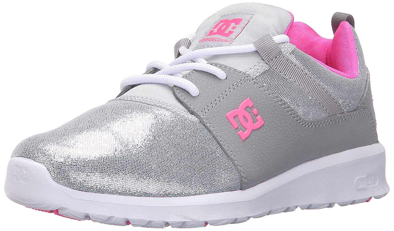 DC Women's Heathrow SE Skate Shoe B0184OHW18 9 B(M) US|Silver