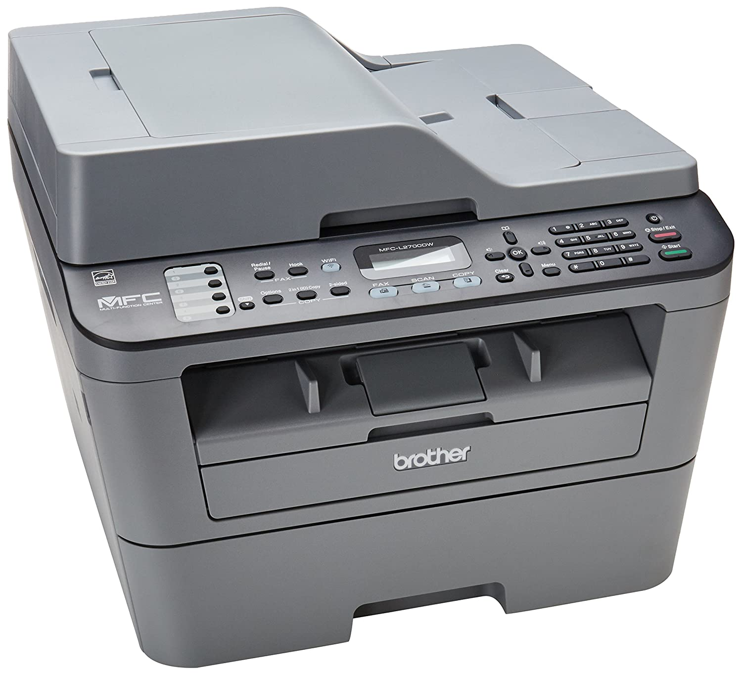 Brother Mfcl2700Dw Compact Laser All-In One Printer With ...
