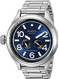 Nixon Men 's ' October Tide ' Quartz Metal andステンレススチールWatch, Color : silver-toned (モデル: a4741258–00)