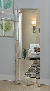 Amazon.com: HobbitHoleCo Narrow Hanging Wall Accent Mirror with ...
