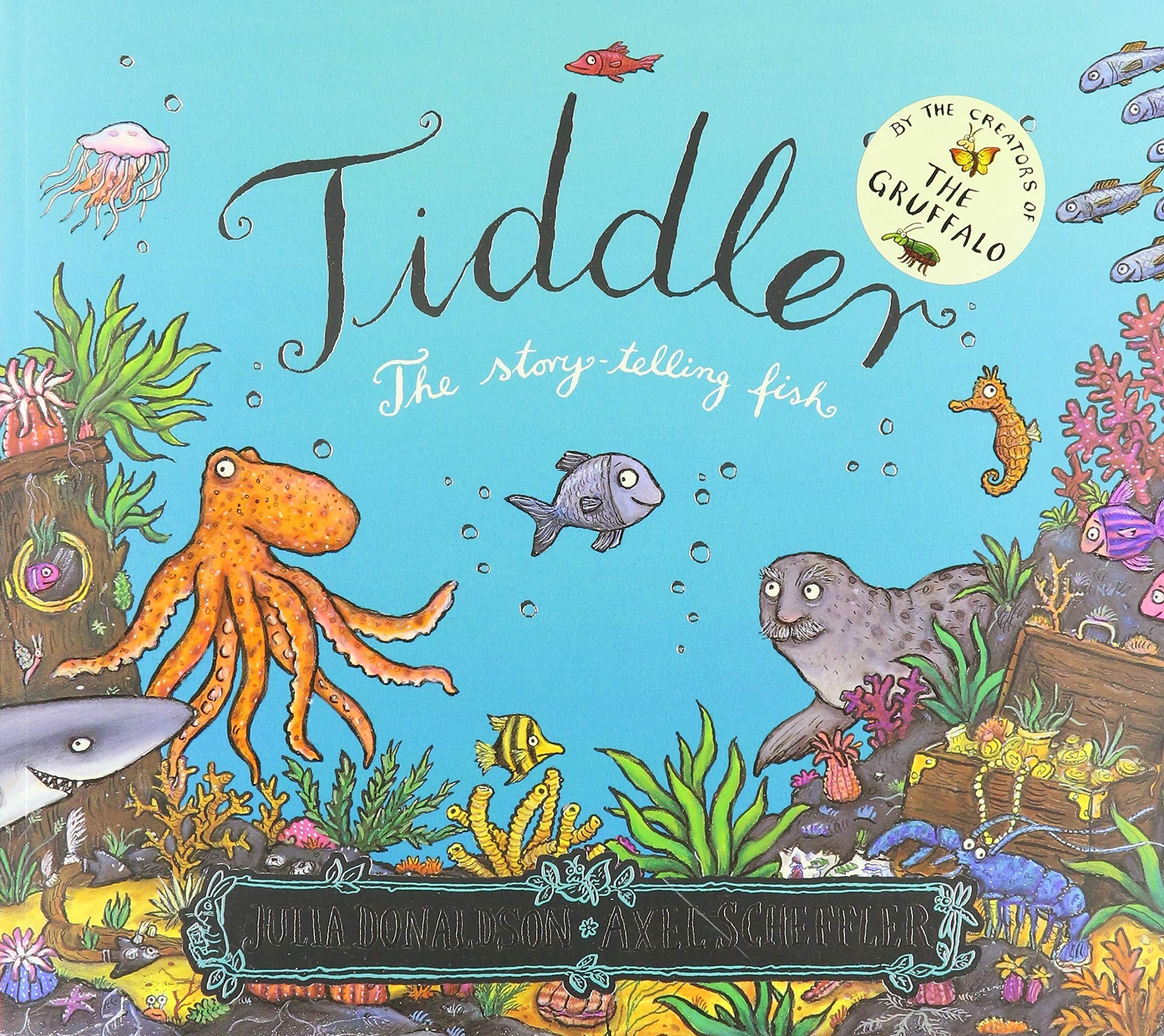 Tiddler: 1: Amazon.co.uk: Julia Donaldson, Axel Scheffler: Books