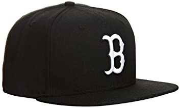 fea198134e3 New Era Men s Baseball Cap Mütze MLB Basic Boston Sox 59 Fifty Fitted Red  Black