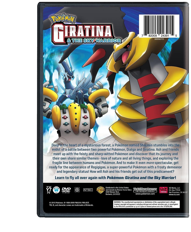 Amazon Com Pokemon The Movie Giratina And The Sky Warrior Dvd