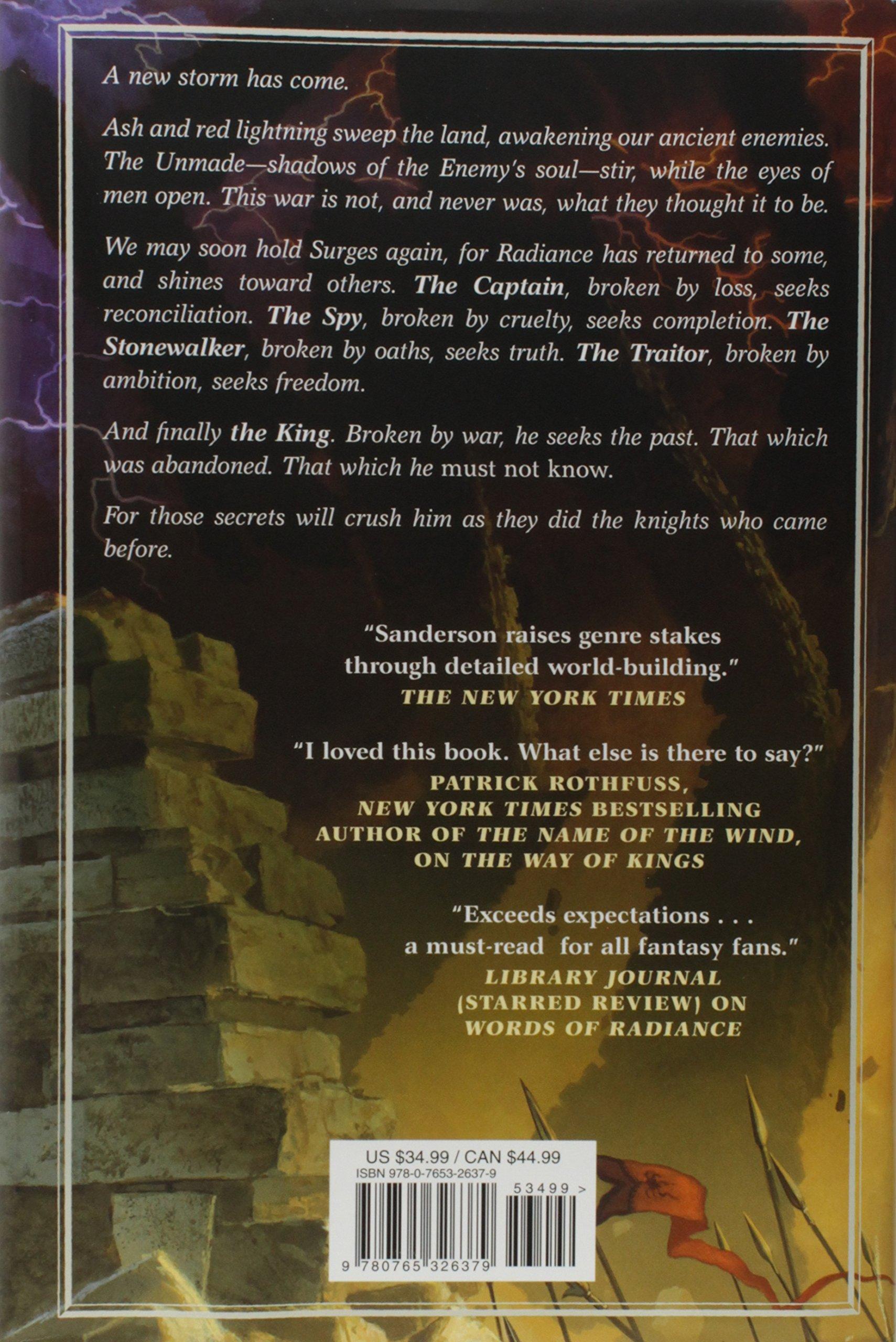 Oathbringer: Book Three of the Stormlight Archive: Brandon Sanderson ...