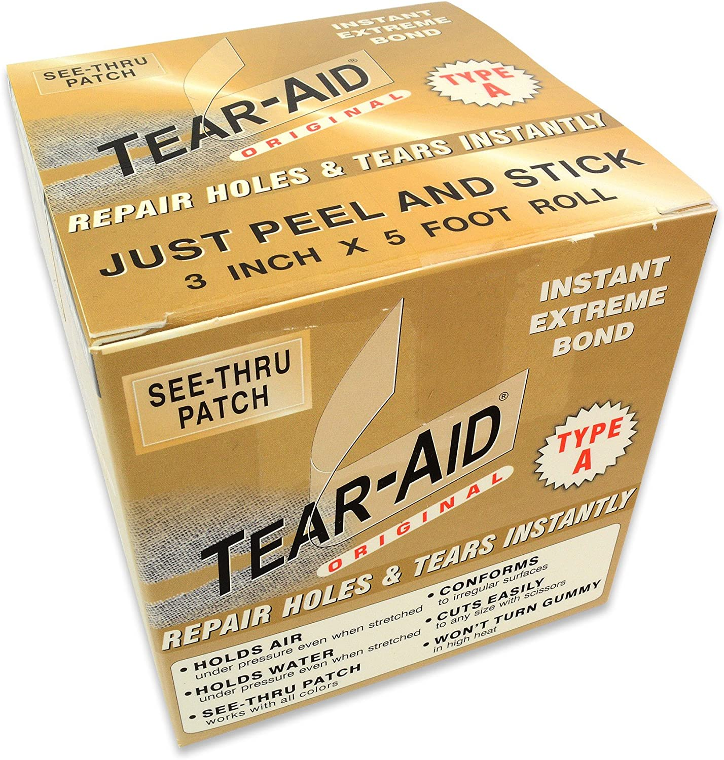 Tear Aid Tape Type A/  / 5/ Foot Roll By Tear-Aid Type A/  / 5/ Foot Roll