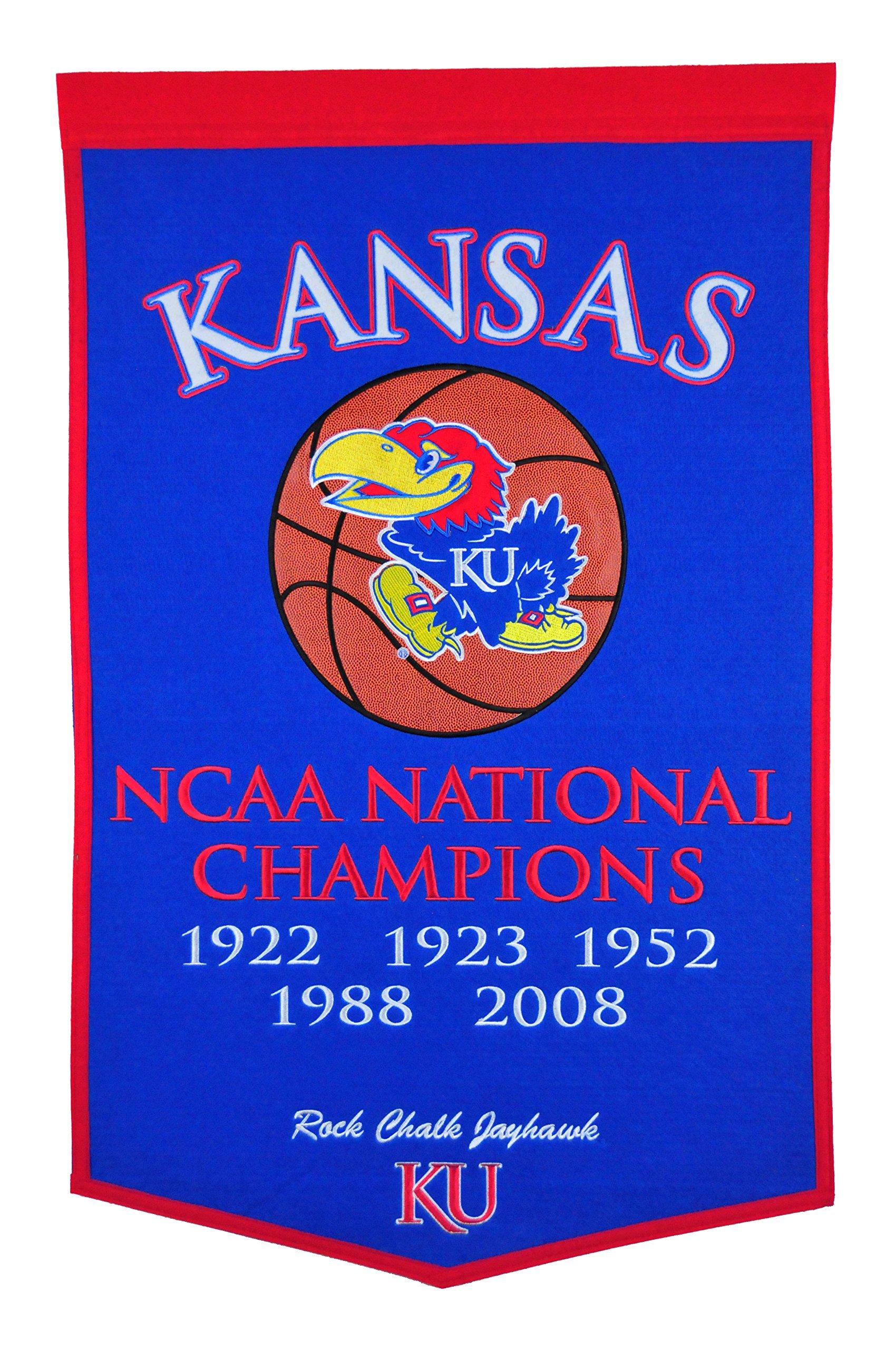 Winning Streak NCAA Kansas Jayhawks Dynasty Banner by Winning Streak